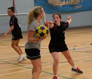 Intense defence from Storm's Ruth Shield